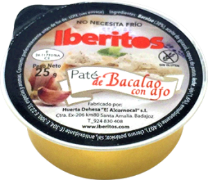 Cod Pate WIth Garlic